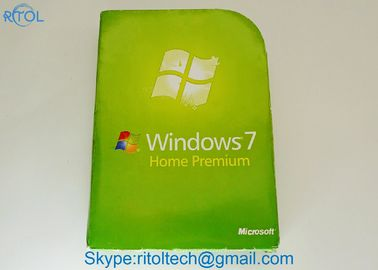 OEM Microsoft Windows 7 Home Premium, versión completa profesional de Windows 7 del pedazo de SP1 64
